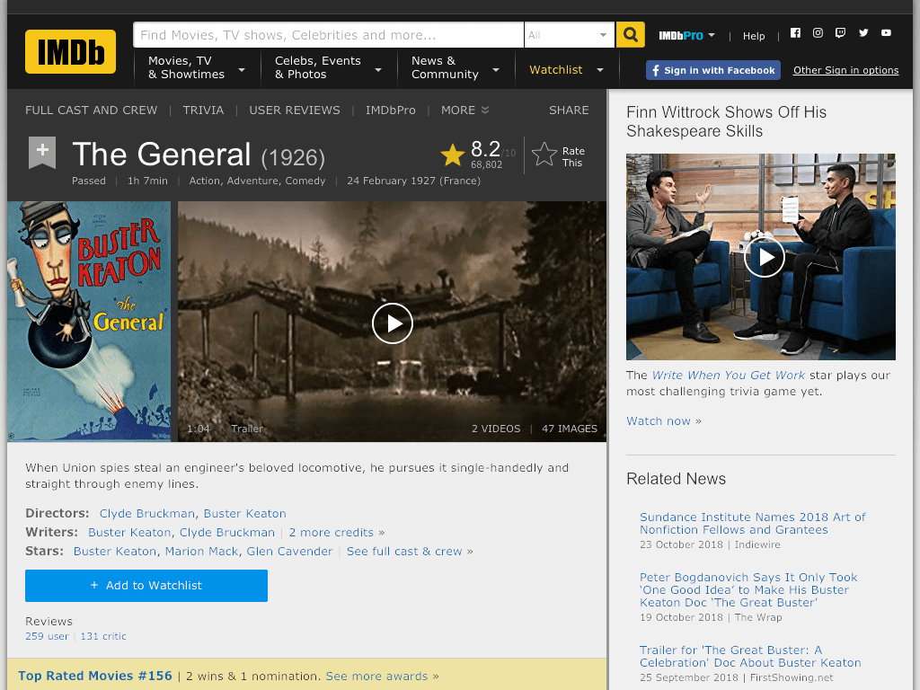 The General Movie FREE