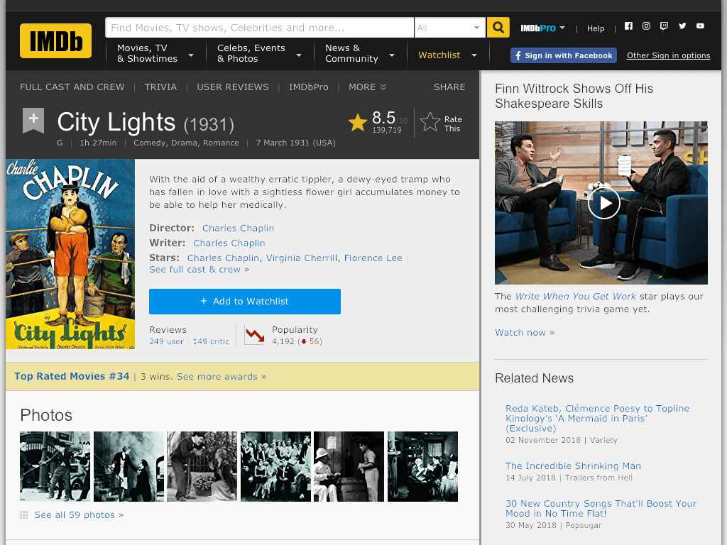 City Lights Movie FREE