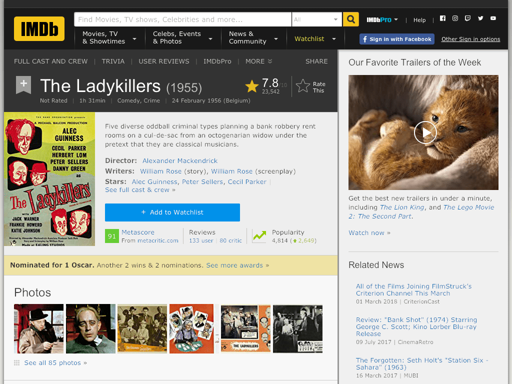 The Ladykillers Movie FREE