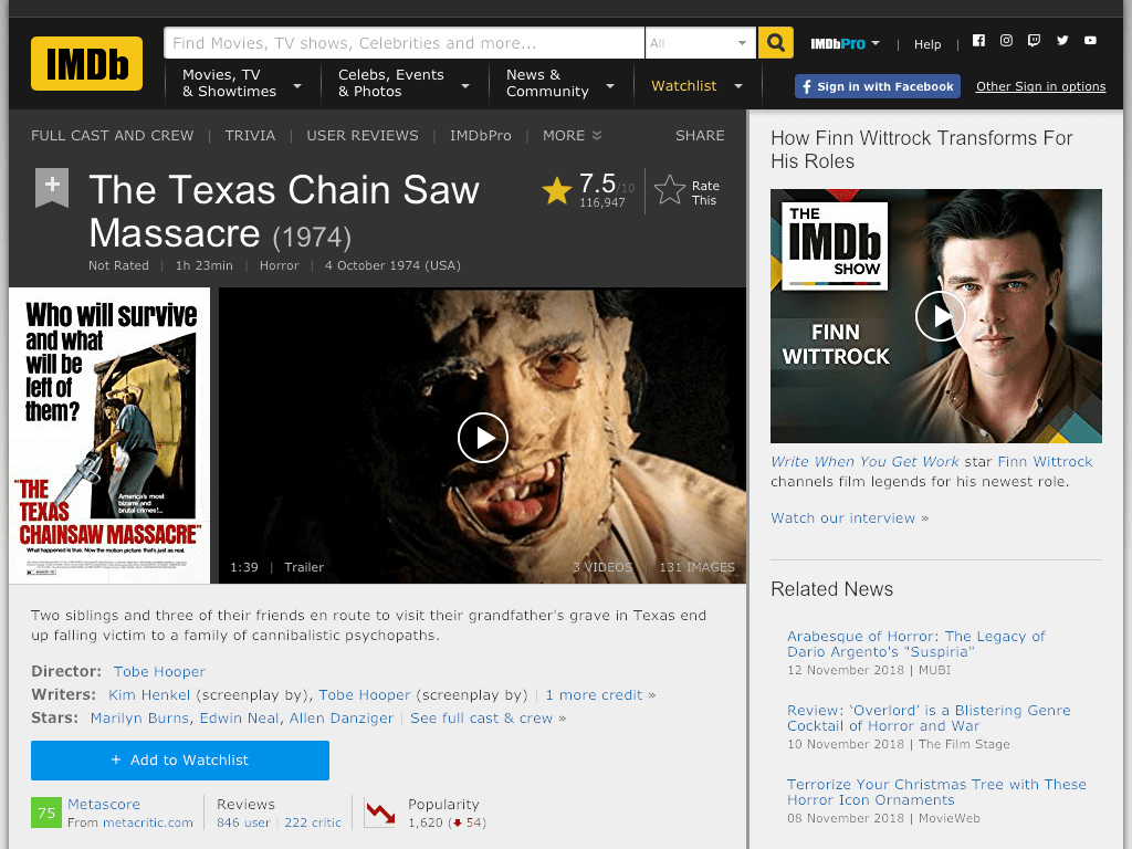 The Texas Chain Saw Massacre Movie FREE