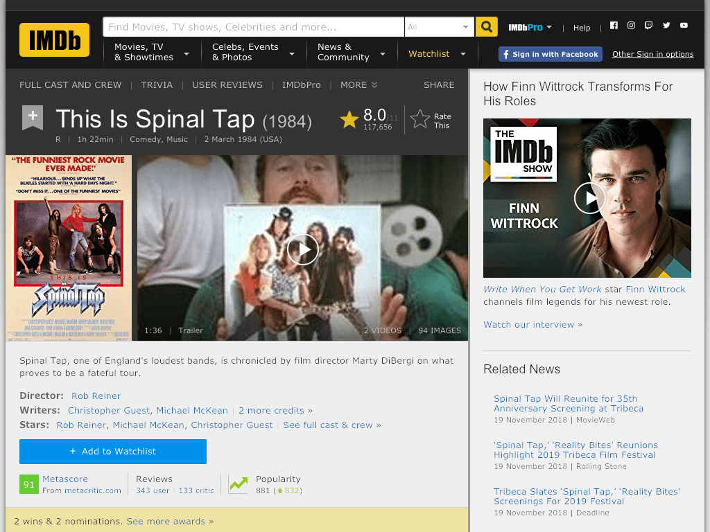 This Is Spinal Tap Movie FREE