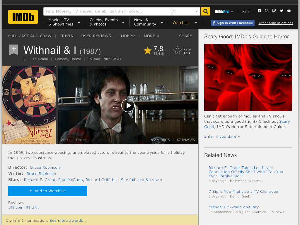 Withnail and I Movie FREE