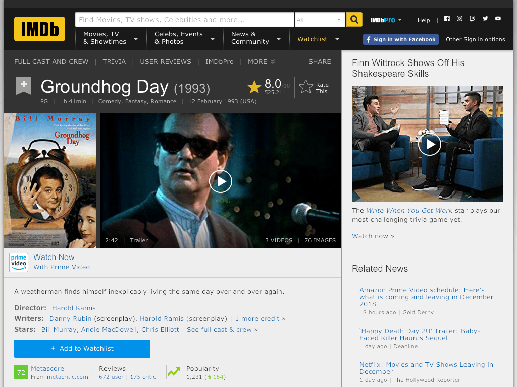 Groundhog Day Movie FREE