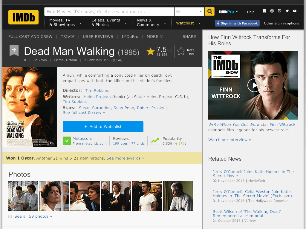 Dead Man Walking Movie FREE