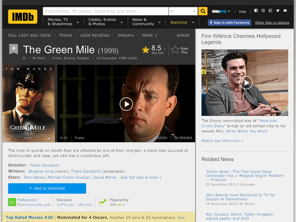 The Green Mile Movie FREE