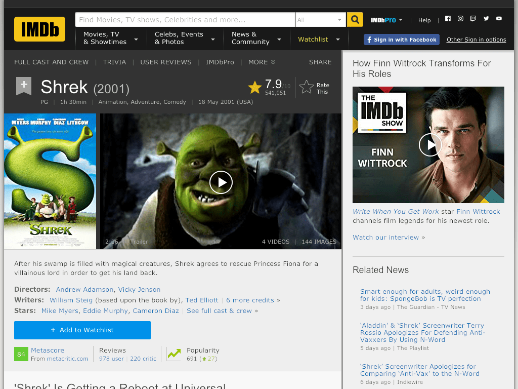 Shrek Movie FREE