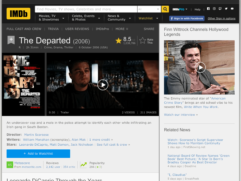The Departed Movie FREE