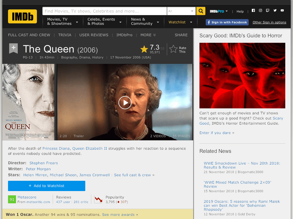 The Queen Movie FREE