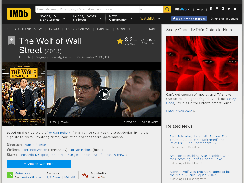 The Wolf of Wall Street Movie FREE
