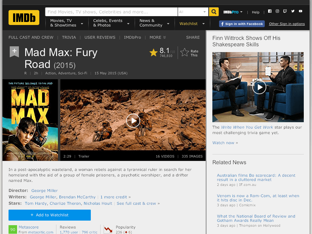mad max full movie free download hd