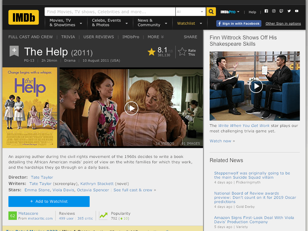 The Help Movie FREE