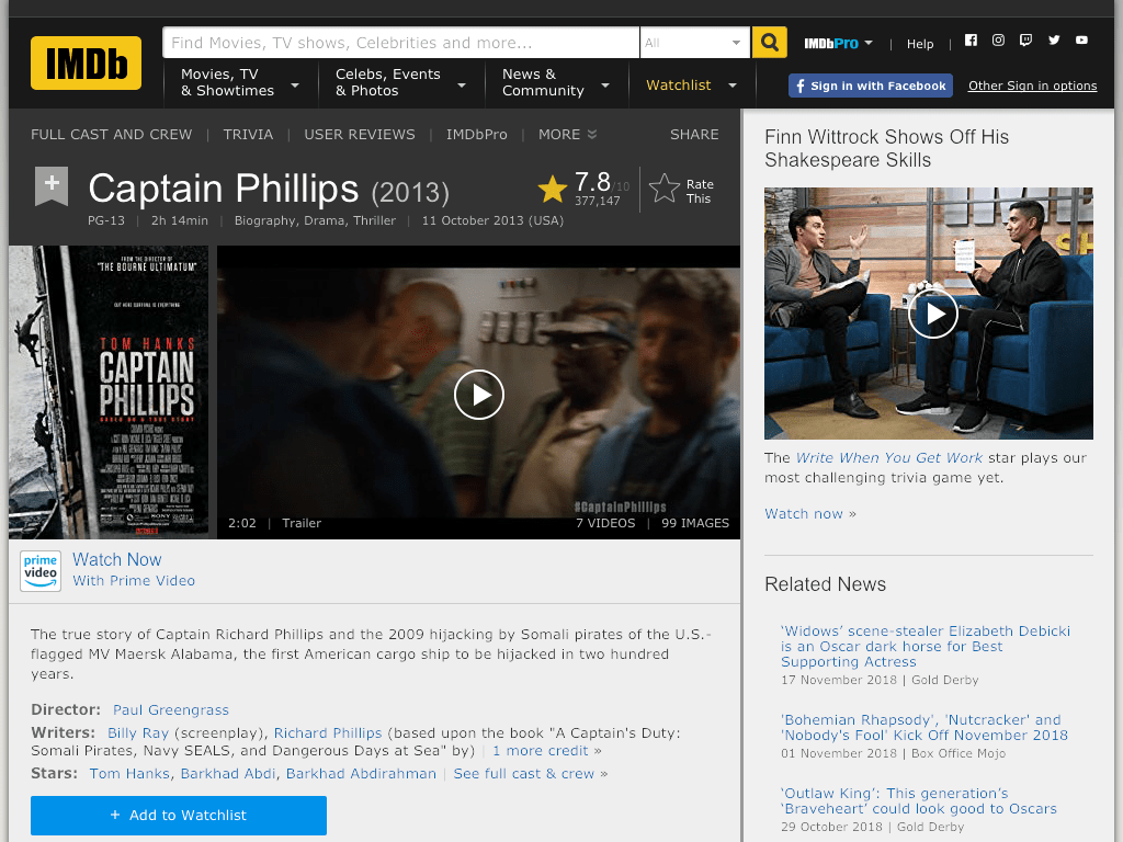 Captain Phillips Movie FREE
