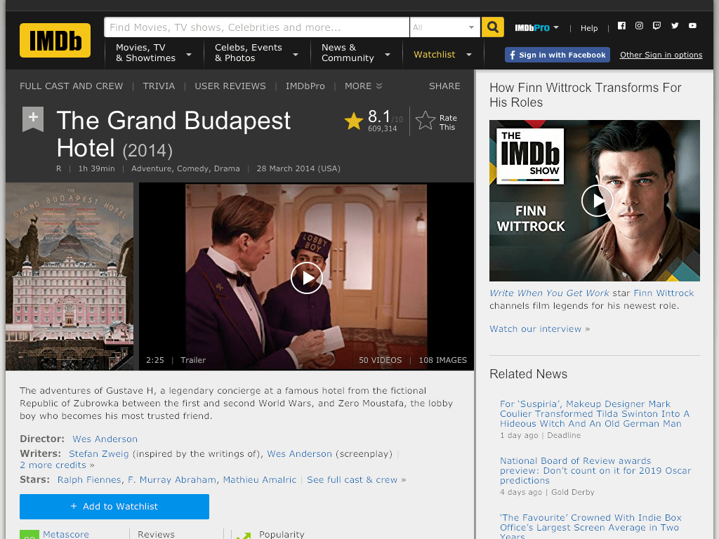 The Grand Budapest Hotel Movie Watch Online And Download Free